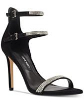 ab4135a8f Nine West Women's Iliana Strappy Evening Sandals