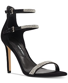 Nine West Women's Iliana Strappy Evening Sandals