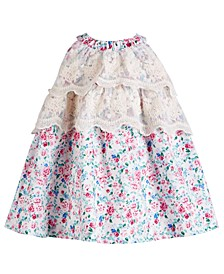Baby Girls Floral & Lace Dress
