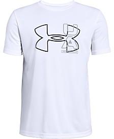 Under Armour Big Boys UV Logo Graphic T-Shirt
