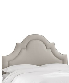 Whim Collection Salena Twin Arched Headboard, Quick Ship, Created for Macy's