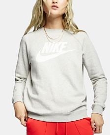 Nike Sportswear Rally Logo Fleece Sweatshirt
