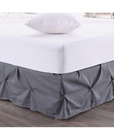 Hudson Pintuck Ruffled Full Bedskirt