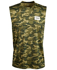 Men's Camo-Print Graphic Tank Top, Created for Macy's