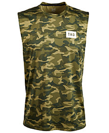 ID Ideology Men's Camo-Print Graphic Tank Top, Created for Macy's