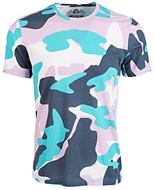 Men's Tonal Camouflage T-Shirt, Created for Macy's