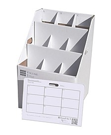 Upright Rolled File Storage