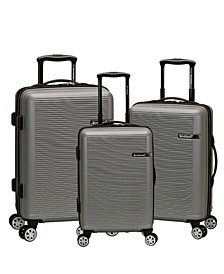 Skyline 3-Pc. Hardside Luggage Set