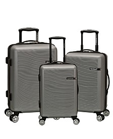 Rockland Skyline 3PCE Hardside Luggage Set