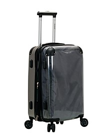 """20"""" Transparent Carry-On Luggage"""