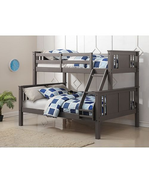 Donco Kids Twin Over Full Princeton Bunk Bed