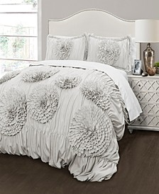 Serena 3Pc Full/Queen Comforter Set