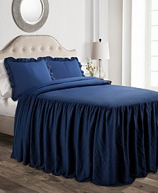 Ruffle Skirt 3-Pc. Full Bedspread Set