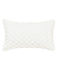 Lorene Gathered Ivory Breakfast Pillow