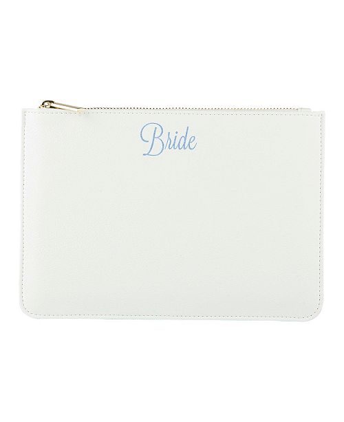 Cathy's Concepts Bride Vegan Leather Clutch