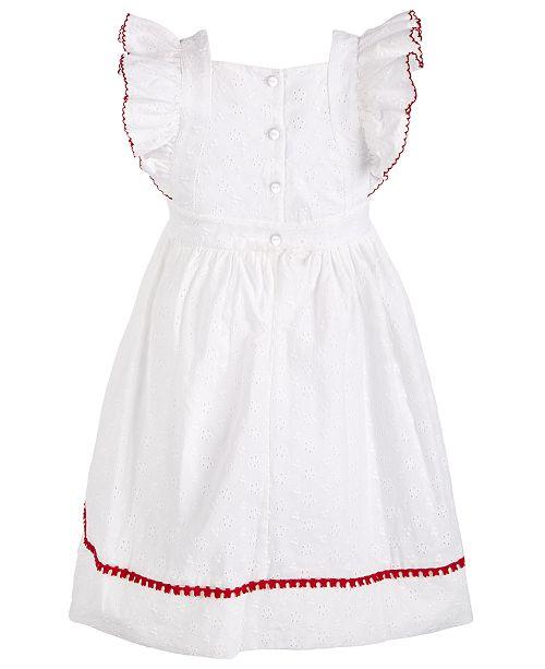 f9fa469dced Bonnie Jean Little Girls Eyelet Pinafore Dress & Reviews - Dresses ...
