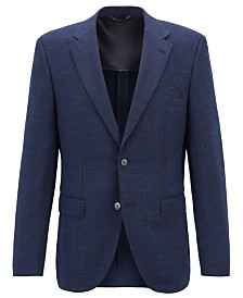 BOSS Men's Jestor4 Regular-Fit Tailored Jacket