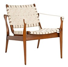 Dilan Leather Safari Chair