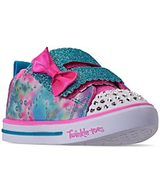 Skechers Toddler Girls' Twinkle Toes: Sparkle Lite - Rainbow Cuties Casual Sneakers from Finish Line