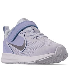 Nike Little Girls' Downshifter 9 Running Sneakers from Finish Line