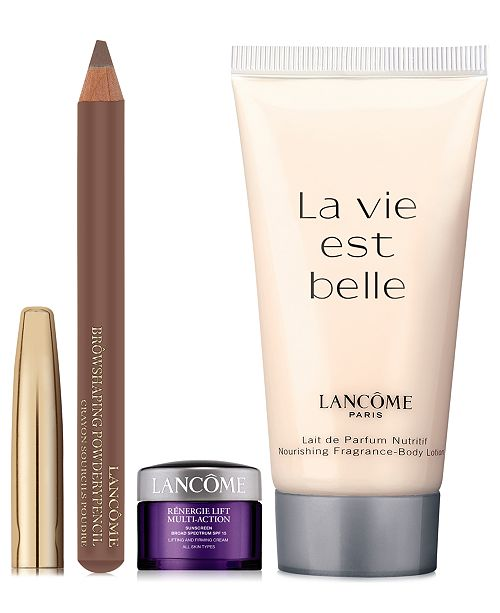 Lancome Receive a Complimentary 3pc Gift with any $50 Lancôme purchase