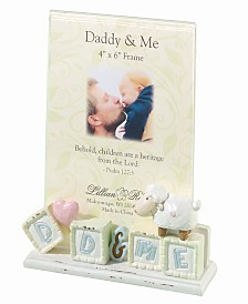 Lillian Rose Daddy and Me Baby Picture Frame Little Lamb