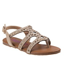 Kensie Girl's Every Step Thong & Strappy Sandals