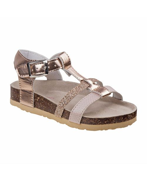 Laura Ashley Every Step T-Strap Cork Lining Sandals