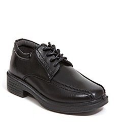 Toddler, Little, and Big Boys Williamsburg Jr Classic Dress Comfort Runoff Toe Oxford
