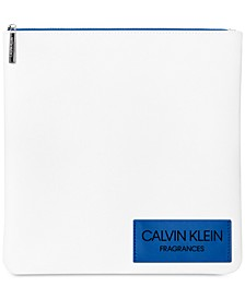 Receive a Complimentary Calvin Klein Pouch with any large spray purchase from the Calvin Klein Women's fragrance collection