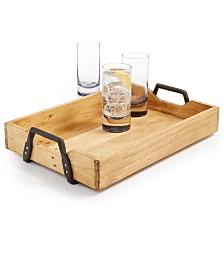 Home Essentials La Dolce Vita Wood Tray