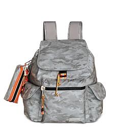 Steve Madden Kora Drawstring Backpack With Pencil Case