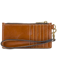 Patricia Nash Leather Almeria Wristlet