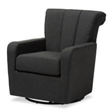 Rayner Swivel Chair, Quick Ship