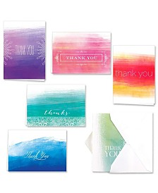 Ombre Watercolor Note Cards Assortment