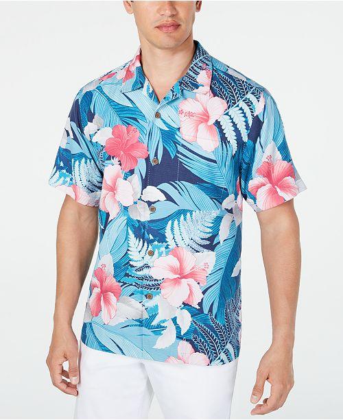 Tommy Bahama Men's Hibiscus Shirt