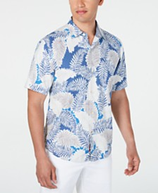 Tommy Bahamas Men's Versilia Palm Shirt