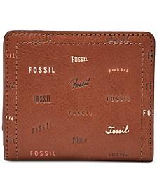 Logan RFID Logo Leather Bifold Wallet
