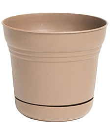 """7"""" Saturn Planter with Saucer"""