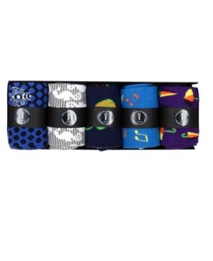 Men's 5 Socks Box Set