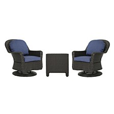 Liam Outdoor Club Chair Set