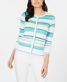 Striped Cardigan, Created for Macy's