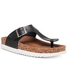 Gem Footbed Sandals