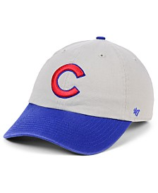 '47 Brand Chicago Cubs Gray 2-Tone CLEAN UP Cap