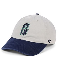 Seattle Mariners Gray 2-Tone CLEAN UP Cap