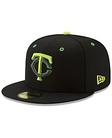 New Era Minnesota Twins Night Moves 59FIFTY Fitted Cap