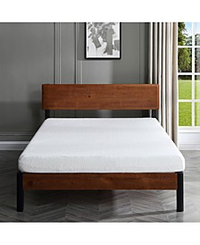 "Ladan  6"" Cool Gel Memory Foam Firm Mattress- Queen, Mattress in a Box"