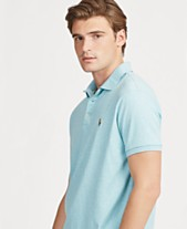 08294b311 Polo Ralph Lauren Men's Custom Slim Fit Soft Touch Cotton Polo, Created for  Macy's