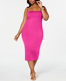 Rebdolls Strappy Midi Dress By The Workshop At Macy's, Regular & Plus Sizes