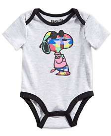 Peanuts Collection Baby Boys Snoopy Graphic Bodysuit